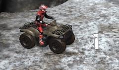 ATV Incercari de Iarna