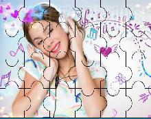 Violeta puzzle