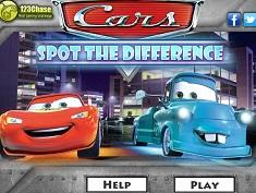 Cars Gaseste Diferentele