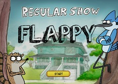 Flappy Mordecai si Rigby