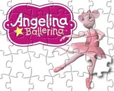 Angelina Balerina Puzzle 2