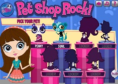 Animalutele Pet Shop Star Rock