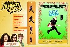 Austin si Ally Creeaza Postere