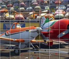 Avioanele Disney Spin Puzzle