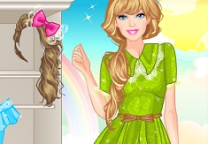 Barbie Moda cu Dantela