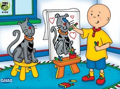 Caillou Puzzle Jigsaw