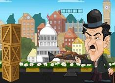Charlie Chaplin VS Hitler