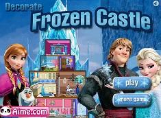 Decoreaza Castelul Frozen