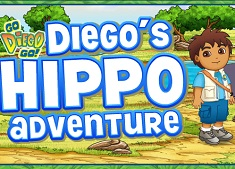 Diego Salveaza Hipopotami