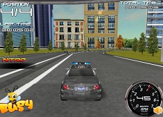 Drifturi 3D cu Masina Politiei