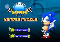 Eroii Sonic Puzzle