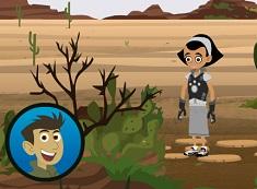 Fratii Kratt in Desert