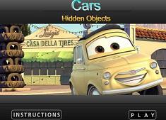 Fulger McQueen Obiecte Ascunse