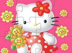 Hello Kitty si Florile