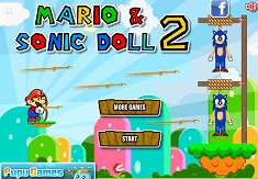 Mario si Papusa Sonic