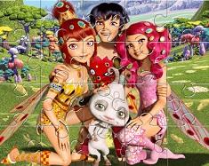 Mia si Prietenii Puzzle