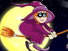 Mica Vrajitoare in Noaptea de Halloween