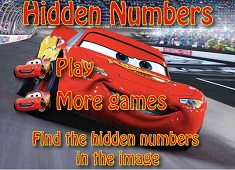 Numere Ascunse Fulger McQueen