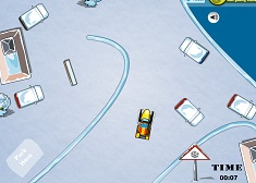 Parcheaza Snowmobilul