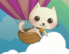 Pisica in Balon