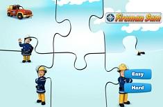 Pompierul Sam Puzzle Jigsaw