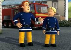 Pompierul Sam Puzzle