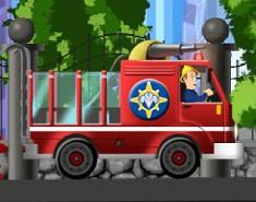 Pompierul Sam cu Masina