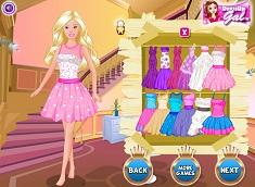 Printesa Barbie de Imbracat