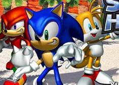 Puzzle cu Eroii Sonic X