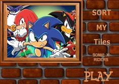 Puzzle cu Sonic X