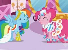 Rainbow Dash si Pinkie Pie
