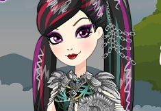 Raven Queen Jocurile Dragonilor