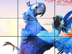 Rio 2 Spin Puzzle
