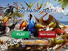 Rio Test de Matematica