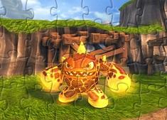 Skylander Eruptor Puzzle