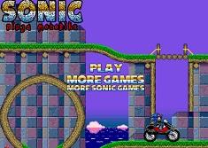 Sonic X Motocicleta Ninja