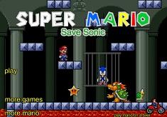 Sonic X Salvat de Super Mario
