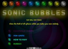 Sonic X cu Baloane