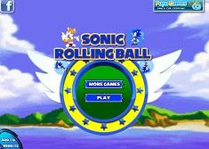 Sonic se Rostogoleste