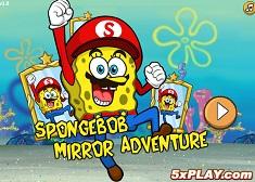 Spongebob de Aventura in Oglinda