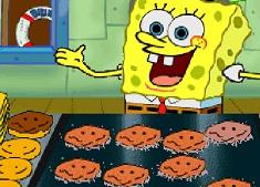 Spongebob la Fast Food