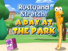 Stretch si Rusty in Parc