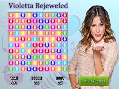 Violeta Bejeweled