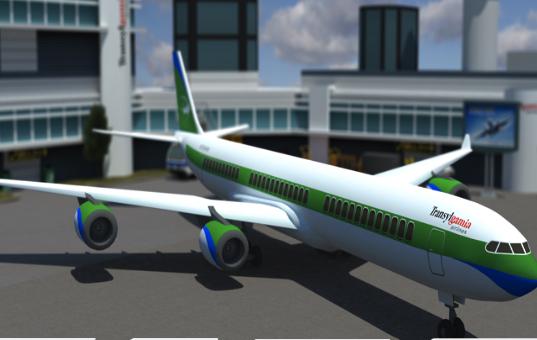 Aeronava Moderne 3D de Parcat