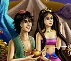Aladin si Magia Lampii