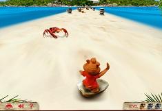 Alvin si Aventura pe Insula