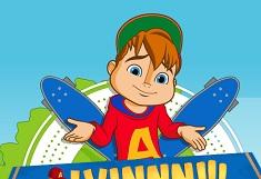 Alvin si Veveritele cu Skateboardul