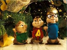 Alvin si Veveritele Puzzle de Craciun