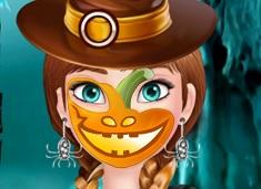 Ana Desene pe Fata de Halloween
