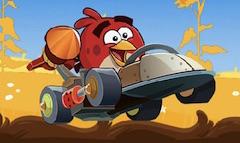 Angry Birds cu Masini Litere Ascunse